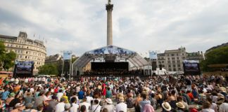BMW Classics Trafalgar Square Concert with London Symphony Orchestra 2018