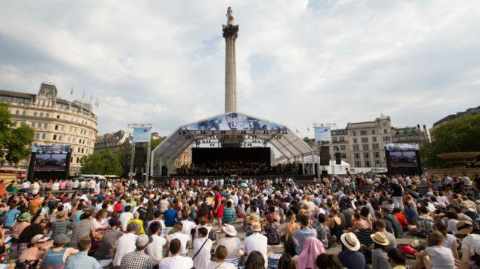 BMW Classics Trafalgar Square Concert with London Symphony Orchestra 2018