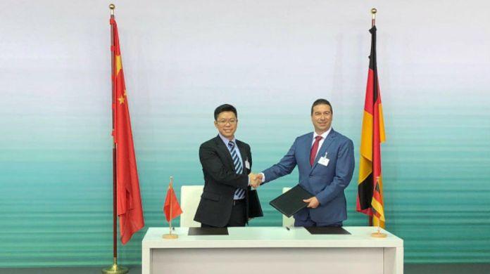 Huawei Audi MoU Strategic Cooperation
