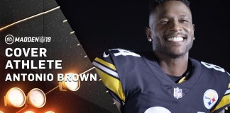 Antonio Brown Becomes Cover Athlete for EA Sports Madden NFL 19