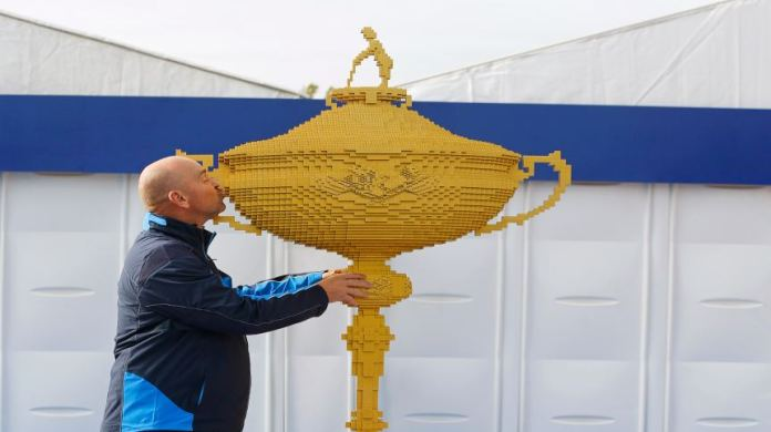 Lego Honours First Danish Captain with Giant Ryder Cup