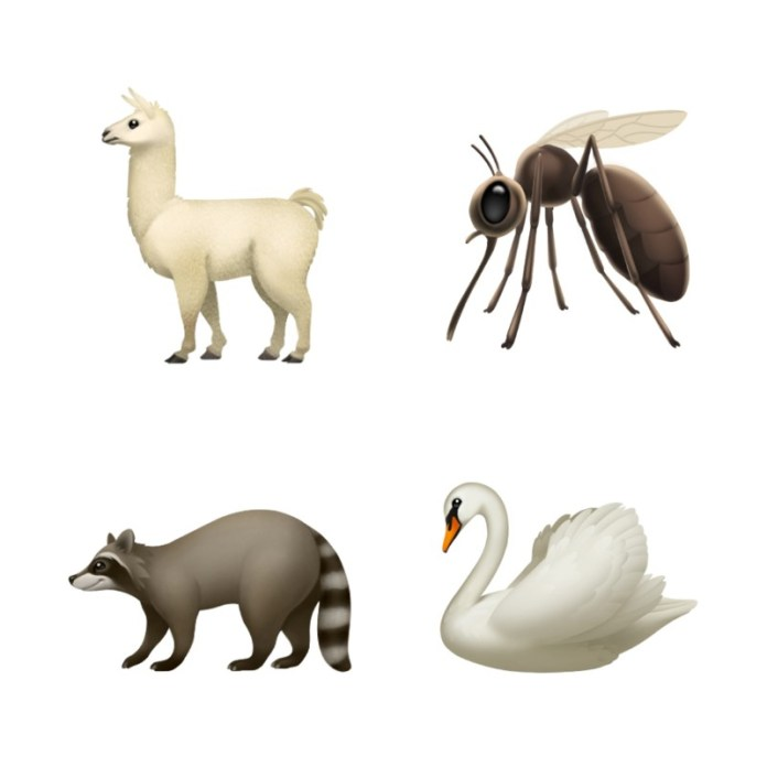 apple animal emoji