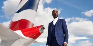 british airways ozwald boateng