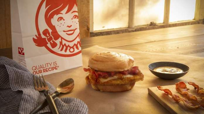 wendy's bacon maple