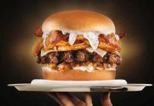 carl's jr. truffle burger