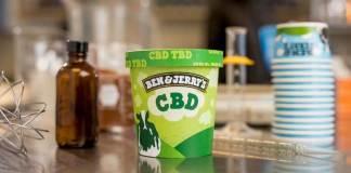 CBD ice cream by Ben & Jerry's