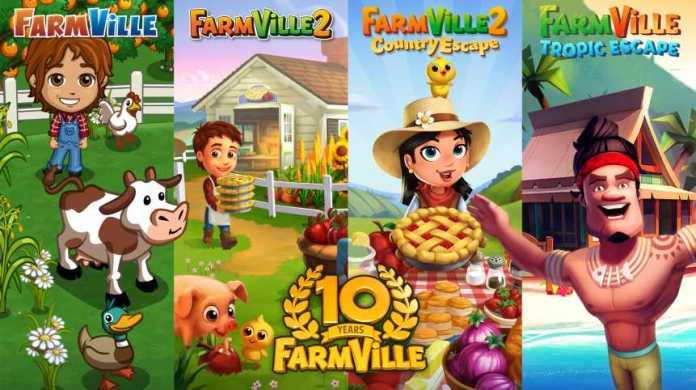 FarmVille by Zynga Marks 10-Year Anniversary Milestone