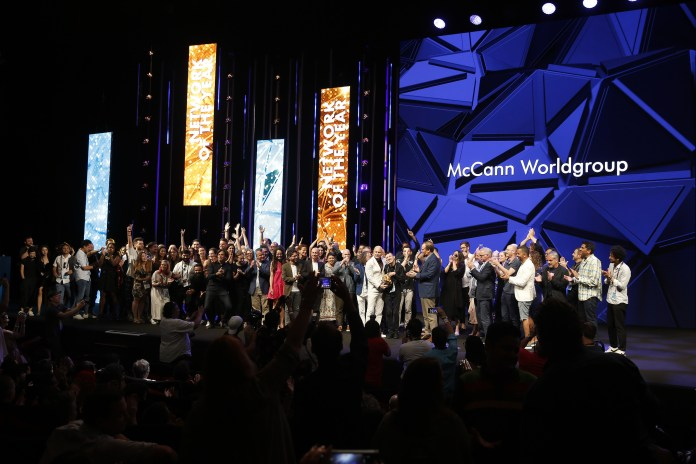 McCann Worldgroup Network of the Year at Cannes Lions 2019
