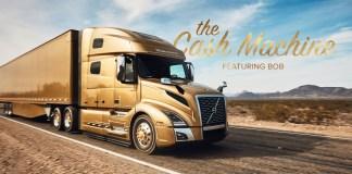 Volvo Trucks North America Cash Machine featuring Bob campaign