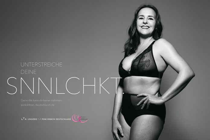 BBDO Düsseldorf : Pink Ribbon Germany : LYN campaign photographed by Rankin 4