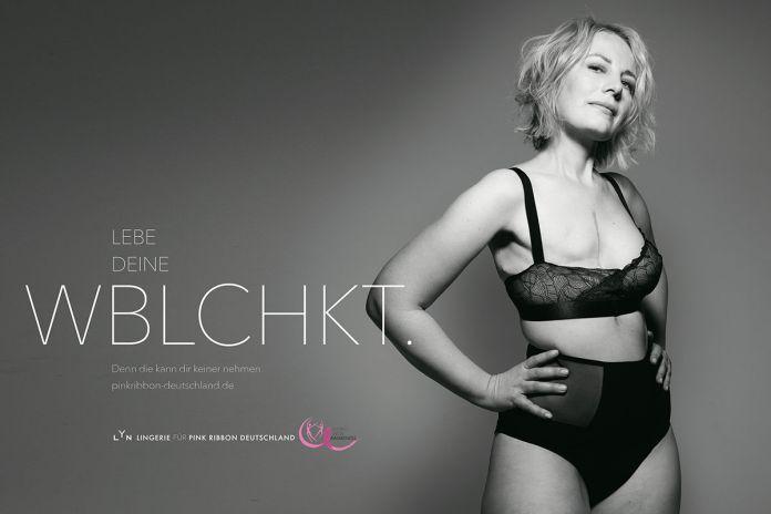 BBDO Düsseldorf : Pink Ribbon Germany : LYN campaign photographed by Rankin 6