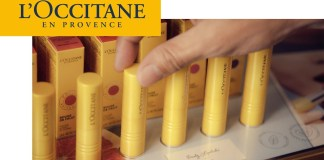 L'Occitane phonetic tips campaign