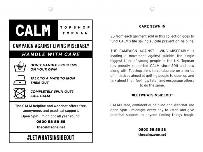 topshop CALM campaign 2