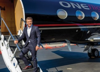Robert Herjavec ONEFlight International 2