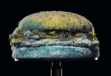 Burger King mouldy whopper timelapse campaign