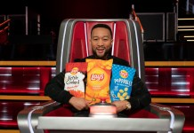 Lay's partners The Voice and John Legend to debut team of flavours