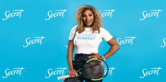 Secret Deodorant partners Serena Williams in gender equality campaign