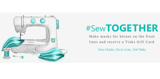Tieks launches Operation #SewTogether for healthcare workers