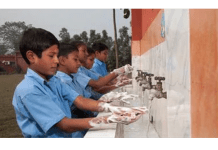 UK aid and Unilever launches a global handwashing campaign