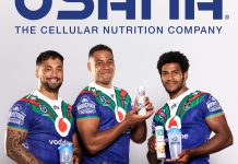 USANA signs deal with New Zealand Rugby Team