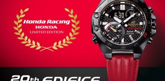Casio celebrates 20th anniversary in collaboration with Honda Racing