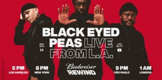"Budweiser launches ""Budweiser Rewind"" an interactive live music series"