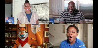 Kellogg Mission Tiger campaign features Shaq and Candace Parker