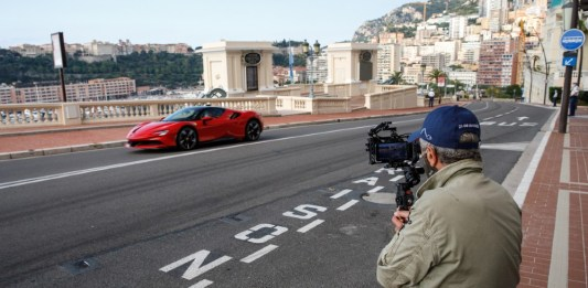 """Ferrari and Claude Lelouch spreads optimism in """"Le Grand Rendez-Vous"""""""