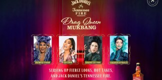 Jack Daniel's Tennessee Fire partners with America's leading drag queens