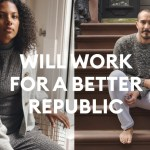 Banana Republic partners Delivering Good and Rock the Vote
