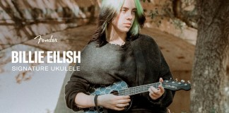 Fender launches it's latest Ukulele in collaboration with Billie Eilish