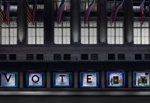 "Saks Fifth Avenue launches ""Register to Vote at Saks"""