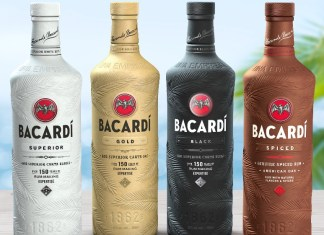 Bacardi's announces that its spirits bottle will biodegrade in 18 months
