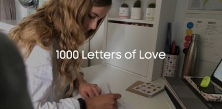 Samsung UK unveils its 1000 letters of love initiative