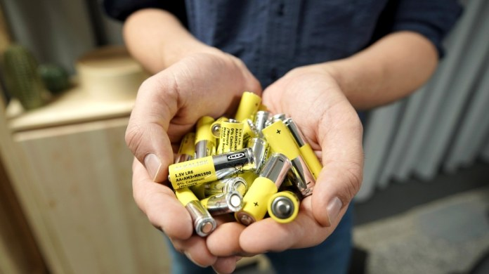 IKEA announces plan to remove non-rechargeable alkaline batteries by 2021
