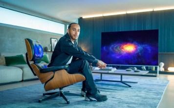 LG Electronics announces its newest global ambassador, Lewis Hamilton