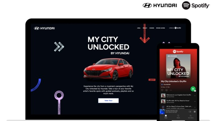 Hyundai and Spotify launches an all new digital experience