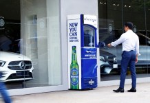 "Heineken and Publicis Singapore introduces ""The Driver's Fridge"""