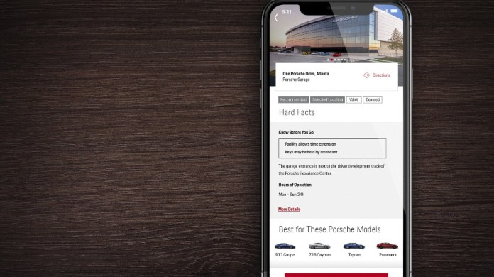 Porsche launches parking app to help make day-to-day life easier
