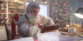 Yankee Candle keeps the magic alive with the Official Santa Cam