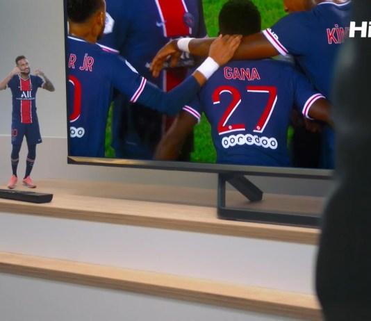 Hisense launches its latest campaign with Paris Saint-Germain