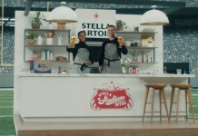 Stella Artois reunites Eli Manning and Victor Cruz in latest ad