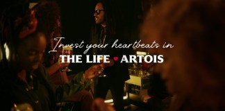 Stella Artois and Lenny Kravitz inspires you to savour moments together