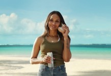Corona sees Zoe Saldana living La Vida Mas Fina in its latest campaign