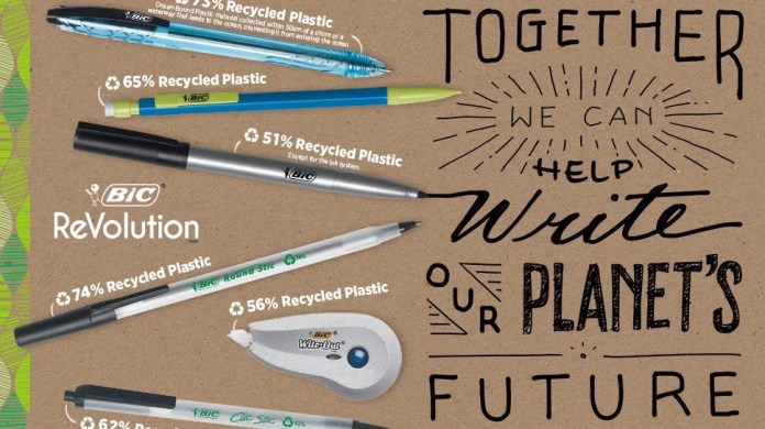BIC Inc. launches its first full range eco-friendly stationery line