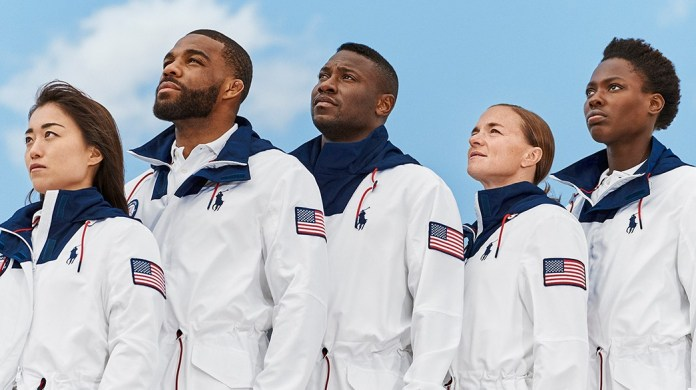 Ralph Lauren unveils the Team USA Closing Ceremony Parade Uniform