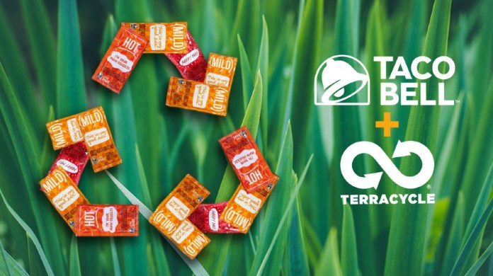 Taco Bell partners TerraCycle to recycle hot sauce packets