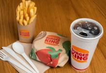 Burger King rolls out a green packaging pilot programme