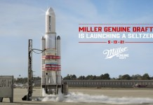 Miller announces that their launching a seltzer into oblivion