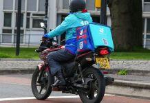Deliveroo, delivery service, food